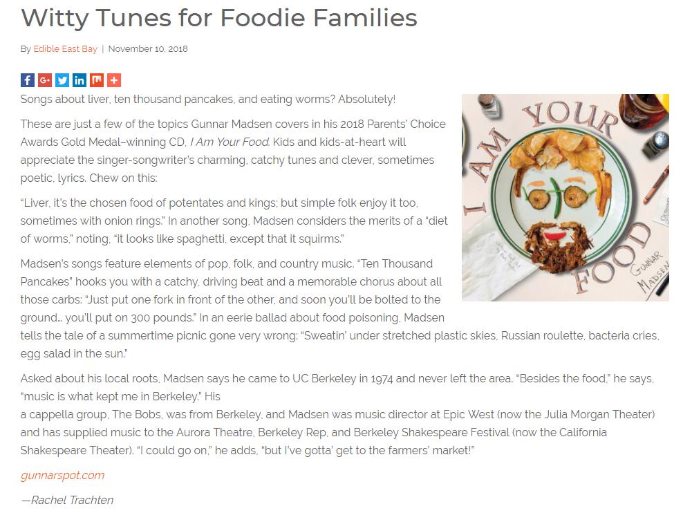 Edible East Bay online