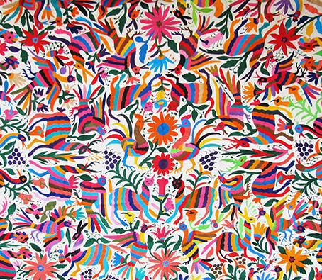Los tenangos: bordados de fantasías del México profundo