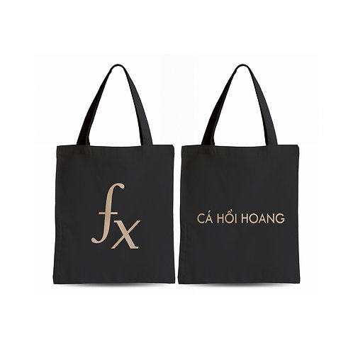 Fx Tote Bag - Black
