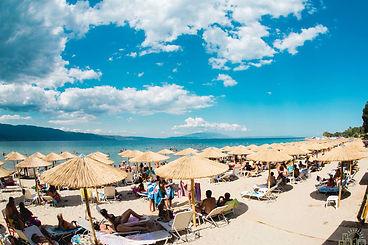 beach bar in Stavros