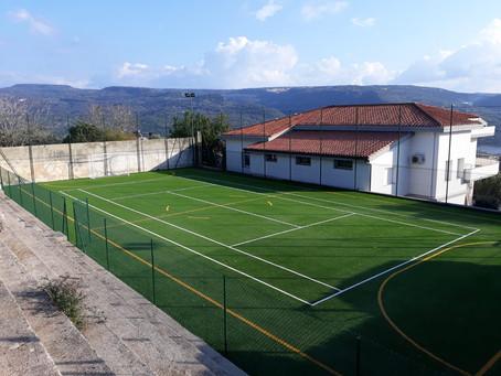 Tadasuni( or) nuovo campo da calcetto e tennis.