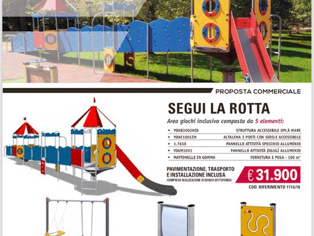 Promozione Parco inclusivo.