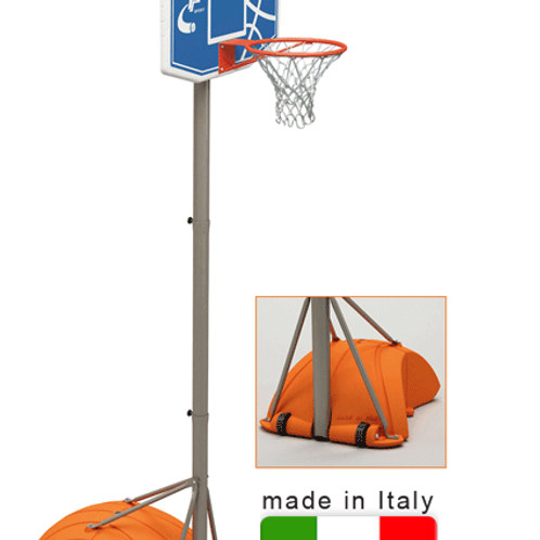 Struttura basket e minibasket trasportabile