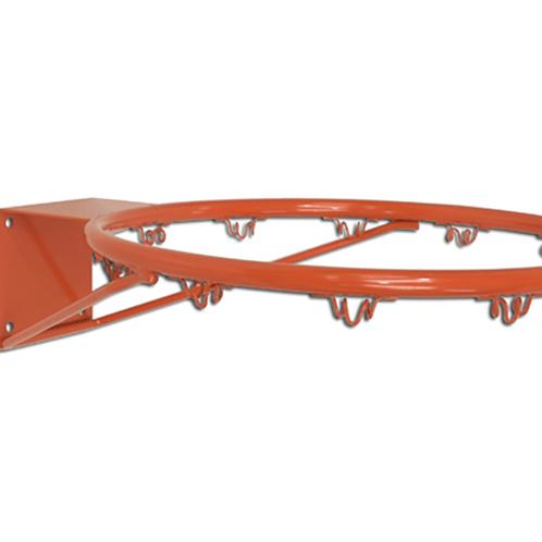 Canestro regolamentare in acciaio verniciato, modello pesante