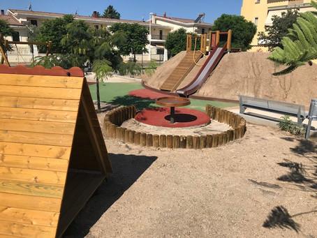 Assemini  nuove aree giochi in via Volta e in via Caravaggio. Funsport agenzia per la Sardegna .