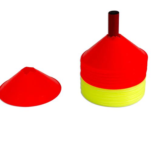 Delimitatori in plastica colorata