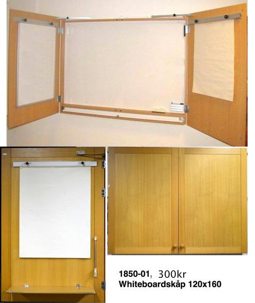 1850-01, 300kr Whiteboard 120x160