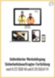 Sicherheitsbeauftragter Fortbildung Werkszugang