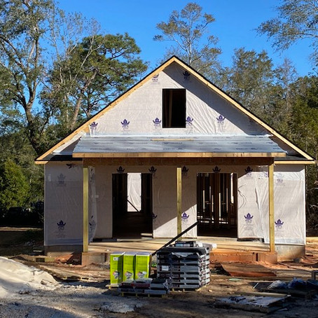Cottage in downtown Fairhope under construction for some amazing clients!