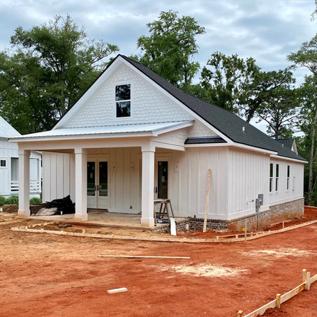 Building in downtown Fairhope, there is still room for you to live there!
