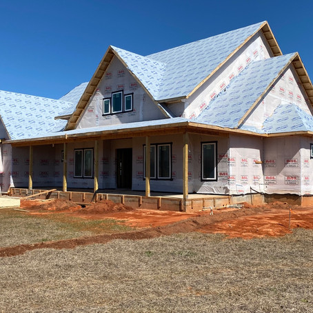 New home we are building in Belforest, Alabama for some friends