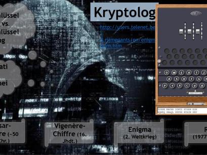 Kryptologie - Von der Cäsar-Chiffre bis zu RSA