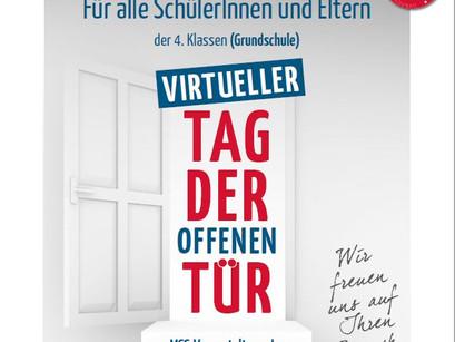 Schulleiterin Christa Killmaier-Heimermann stellt Anmeldeverfahren für den Tag der offenen Tür vor