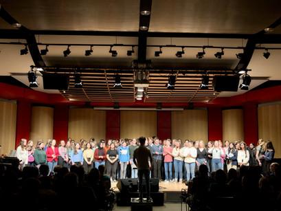"""Teilnahme des Chores des Erich-Klausener-Gymnasiums an der""""Voc.cologne school`s edition"""" in Köln"""