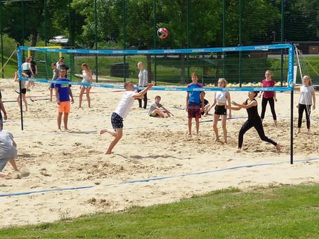Sportliche Tage in Worriken/Belgien. Klassenfahrt der 8a,b,c.