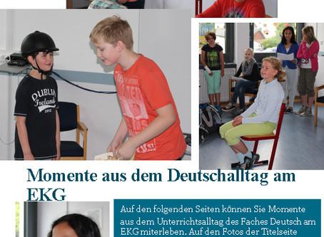 Momente aus dem Deutschunterricht