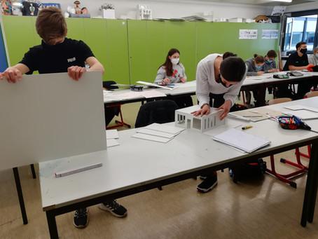 Moderne Architektur/Modellbau (Klasse 10)
