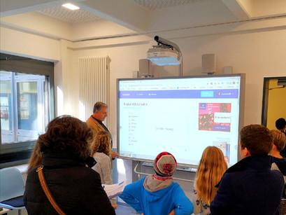 Gut besuchter Tag der offenen Tür am Erich-Klausener-Gymnasium