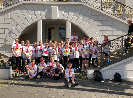 Erich-Klausener-Gymnasium und Hocheifel RS+ mit FOS Adenau erreichen gute Ergebnisse beim Marathon