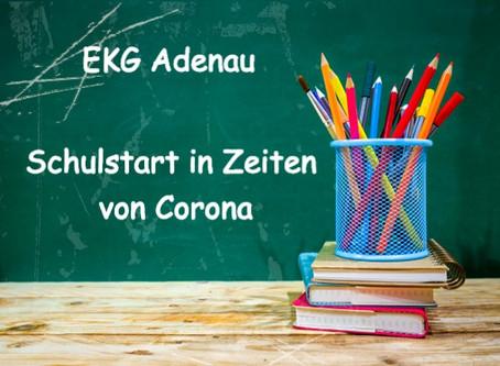 Wichtige Informationen zum Schulstart