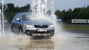 Ankündigung für die MSS 13: Fahrsicherheitstraining am Nürburgring
