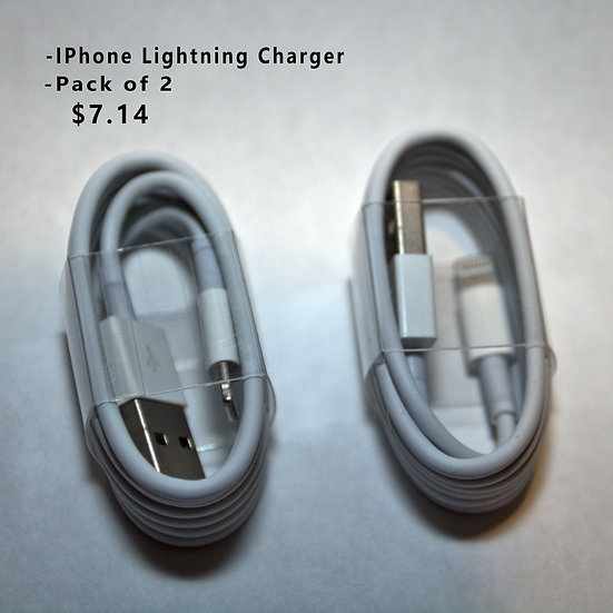 3ft IPhone/IPod/IPad Lightning Cable Charger (Set of 2)