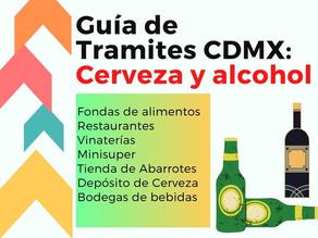 Permisos para venta de cerveza y alcohol 2021 CDMX