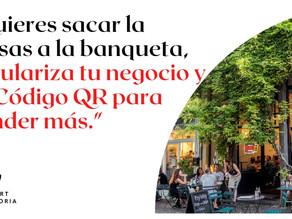 QR COVID PARA LOS ENSERES DE NEGOCIOS