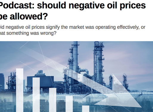 Neg Oil Prices -- Not What You Think!