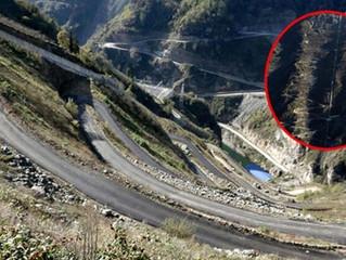 Στα Κοτύωρα του Πόντου δόθηκε στην κυκλοφορία, ίσως, ο πιο επικίνδυνος δρόμος στον κόσμο
