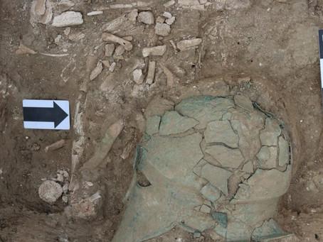 Αρχαία κορινθιακή περικεφαλαία εντοπίστηκε σε ανασκαφές στον Βόρειο Εύξεινο Πόντο