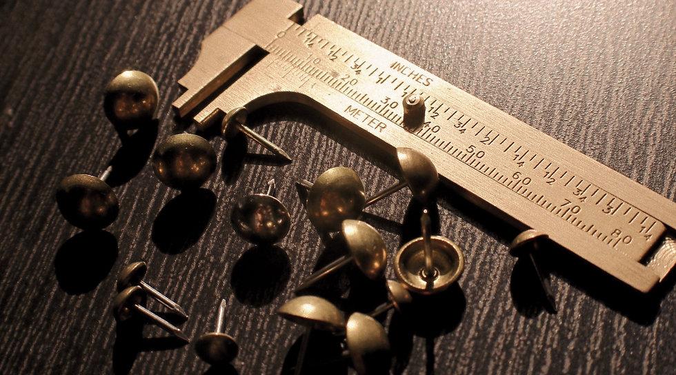 Ruler and Pins