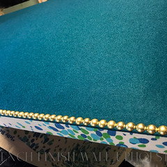 French Finish_Upholstered Screen with Na
