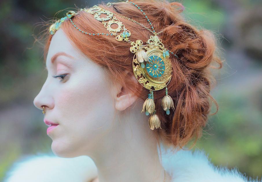 Turquoise Headdress