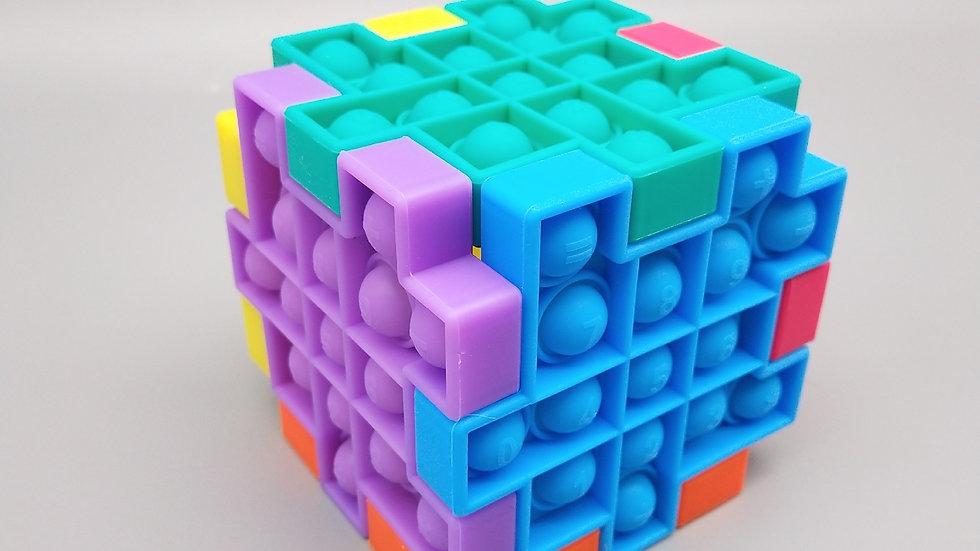 Connecting fidget puzzle