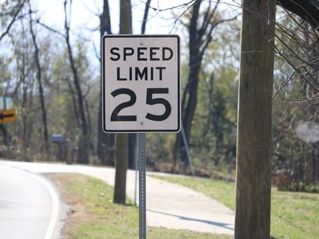 Speeding Issues