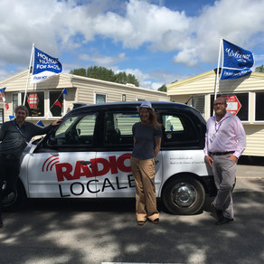 RADIO Locale Visits Marlie Holiday Park in New Romney Kent