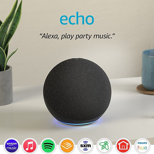 Alexa 4th Generation Echo Dot With Gozo Delivery & Installation