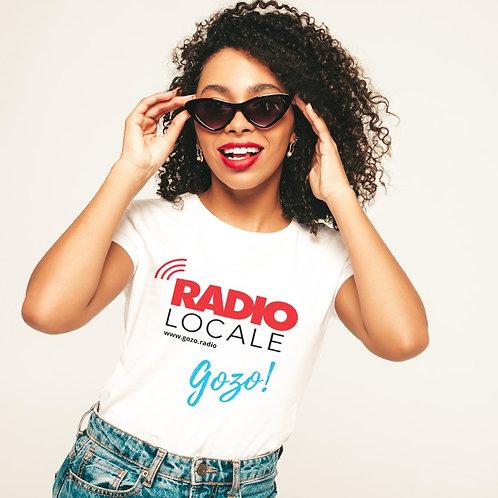 RADIO Locale Gozo White T Shirt (Ladies)