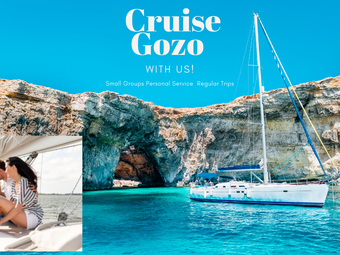 New Gozo Cruises From 75 Euro Full Day With Food & Soft Drinks Max 9 Guests  So Be Quick
