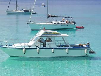 Cabin Cruiser Day Charter to Comino or Gozo