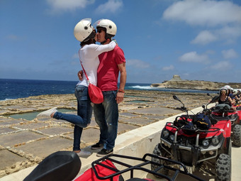 Gozo Full Day Quad Tour With Private Boat to Gozo 88 Euros. Book Now