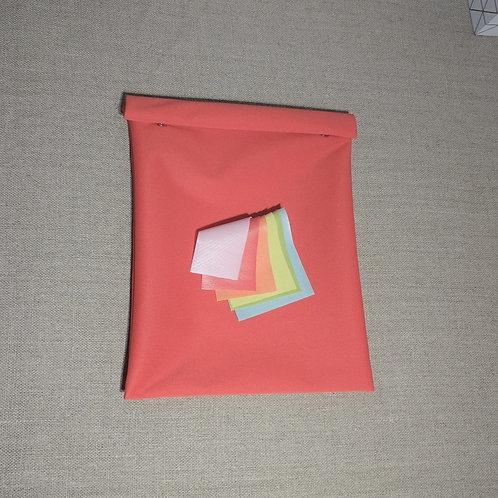 Sac congelation lavable 20 x 25 cm polyester film polyuréthane Oeko-tex