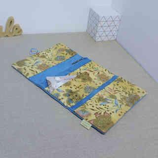 compagnon turquoise fleur oriental doré