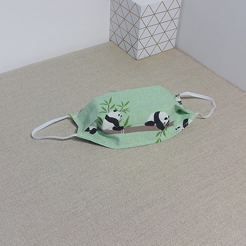Masque enfant ANIMAUX tissus coton 2 couches