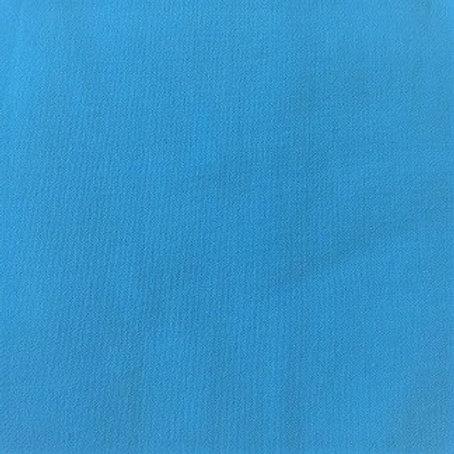 Masque TURQUOISE coton 2 couches, 2 plis, pince nez.