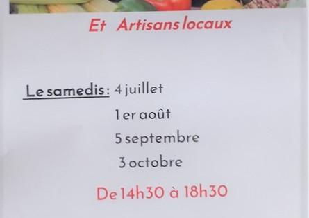 Marché des Producteurs Locaux - NAIZIN 56500