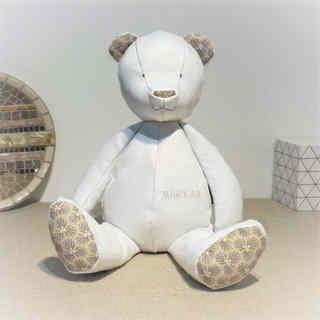Big Bear blanc imprimé Riad