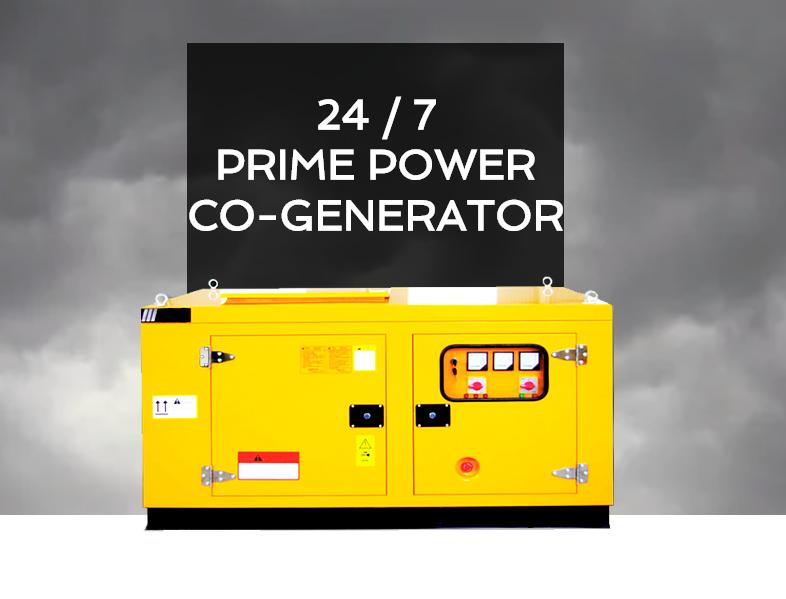 CHP : Prime Power Co-Generator