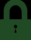 Money Peer Security Lock Graphic